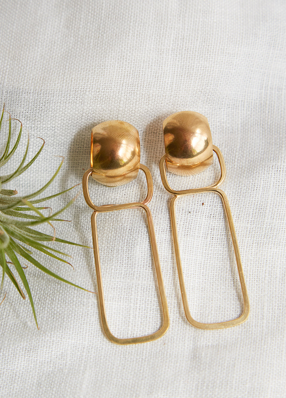 Lila Rice Allegra Earrings