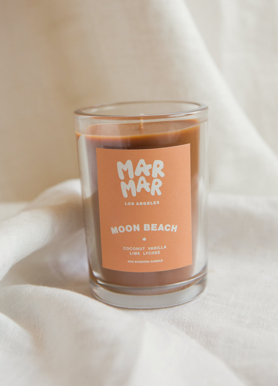 Mar Mar Moon Beach Candle