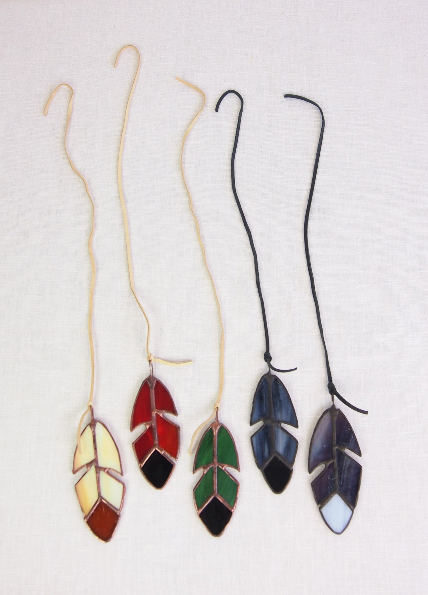 Wilderness Workshop Small Stained Glass Feathers