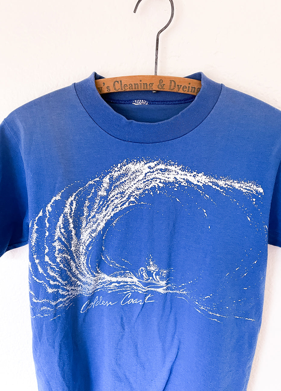 "Vintage 'Golden Coast"" Surf Tee"
