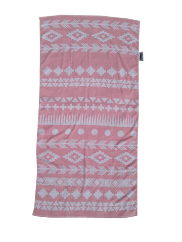 PINK AZTEC Beach Towel NOW NZD $35.00