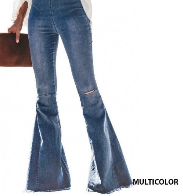 Keep it Gypsy Bell Bottom Denim