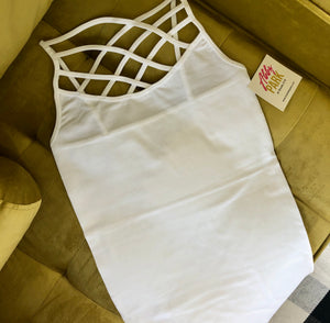 Criss-Cross Cami Tank