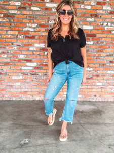 Beach Bum Boyfriend Jeans