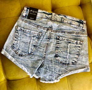 Shorty Shorts - Acid Wash