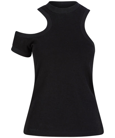 talented jersey top black color