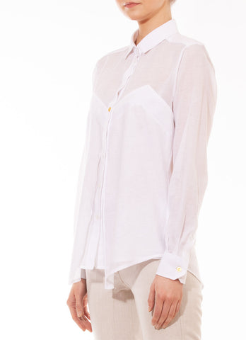 Long sleeve batista blouse