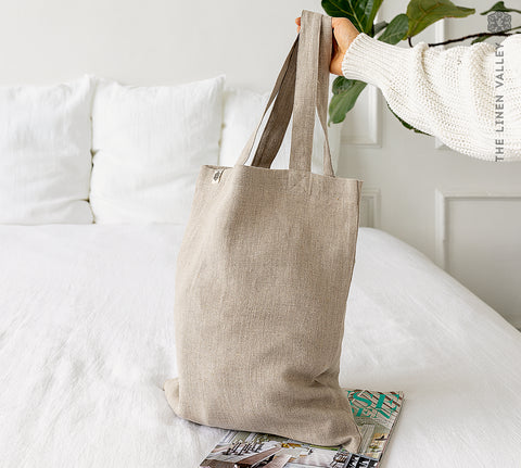RUSTIC LINEN canvas bag