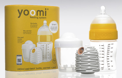 Yoomi self warming bottle Starter Pack