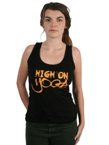 'High on Yoga' Organic Tank