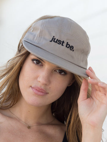 Just be. Caps