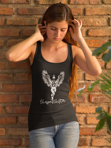 Shape Shifter Singlet - Black