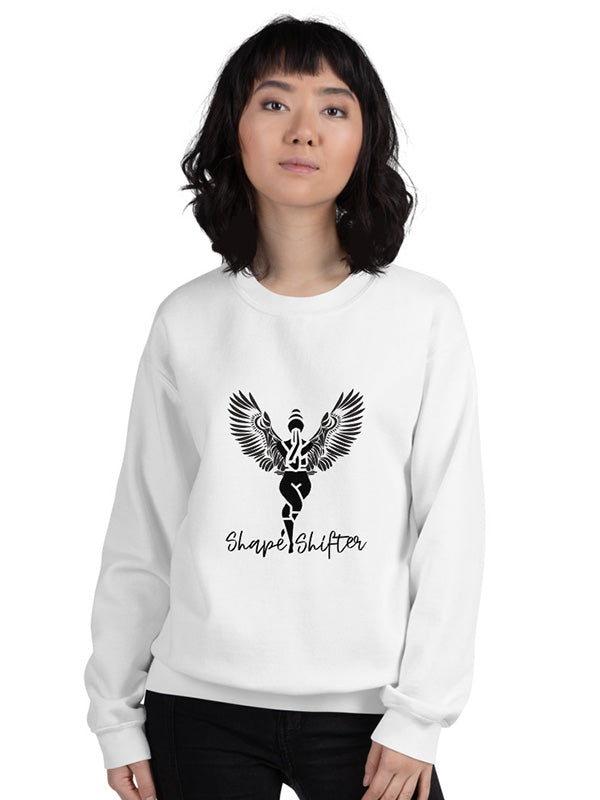 Shape Shifter Sweatshirt - White