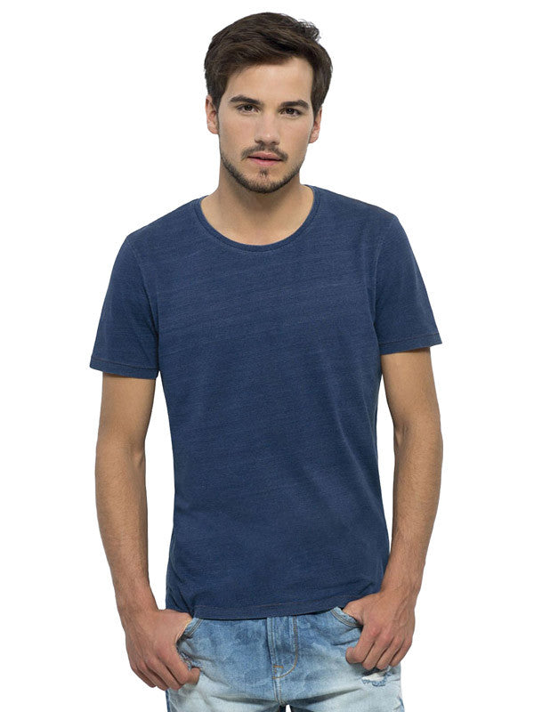 Indigo Organic Cotton Tee