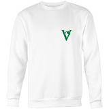 Little Vegan 'V' Sweatshirt - Green