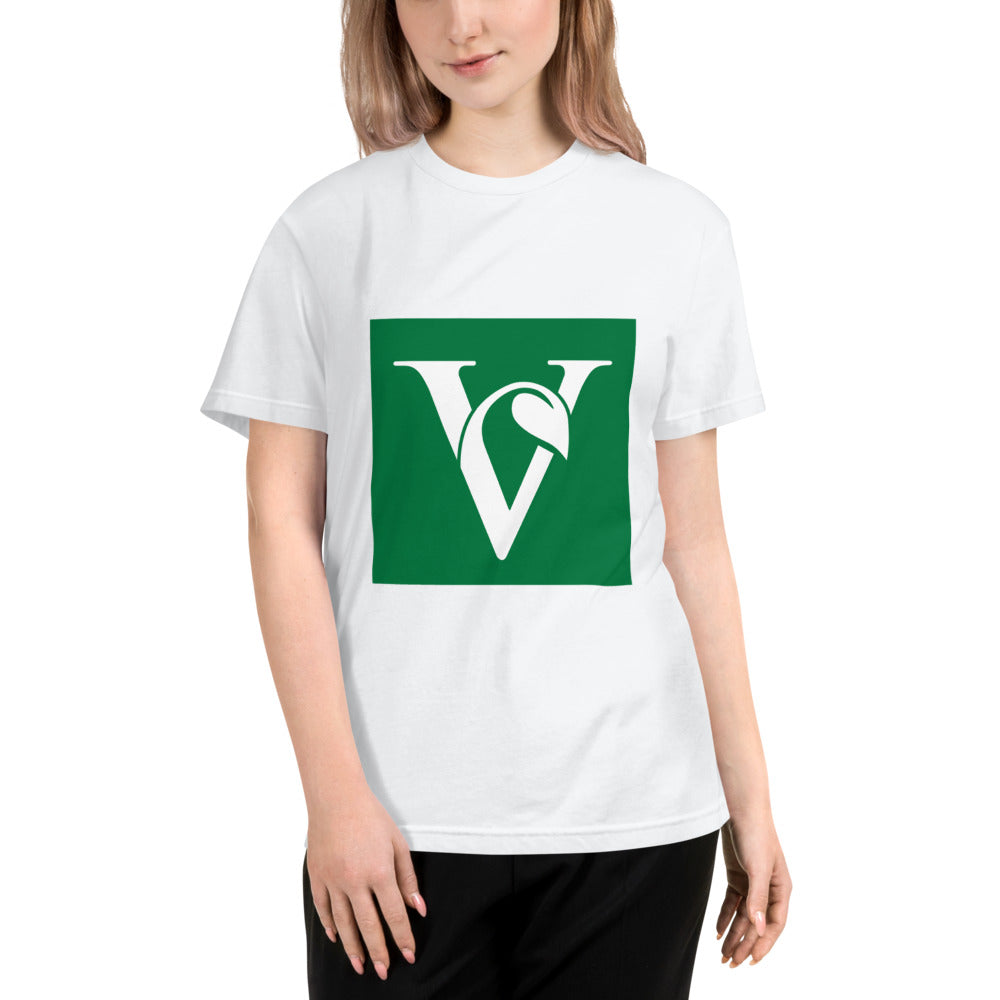 Vegan 'V' Sustainable Tee