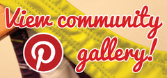 View the community gallery on Pinterest!