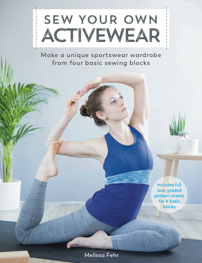 """Sew Your Own Activewear"" Book (signed)"