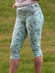 Head for the Hills Steeplechase leggings - front