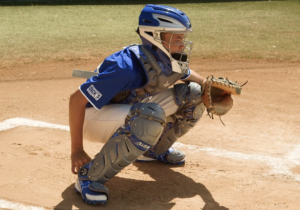 Athletics: Baseball: Catcher Gear