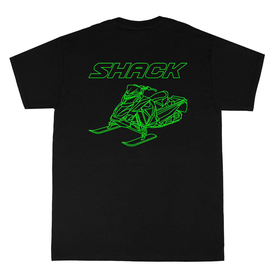 Snowmobile - T-Shirt - Shack Clothing