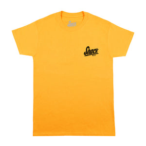 Dual Basic - T-Shirt - Yellow - Shack Clothing