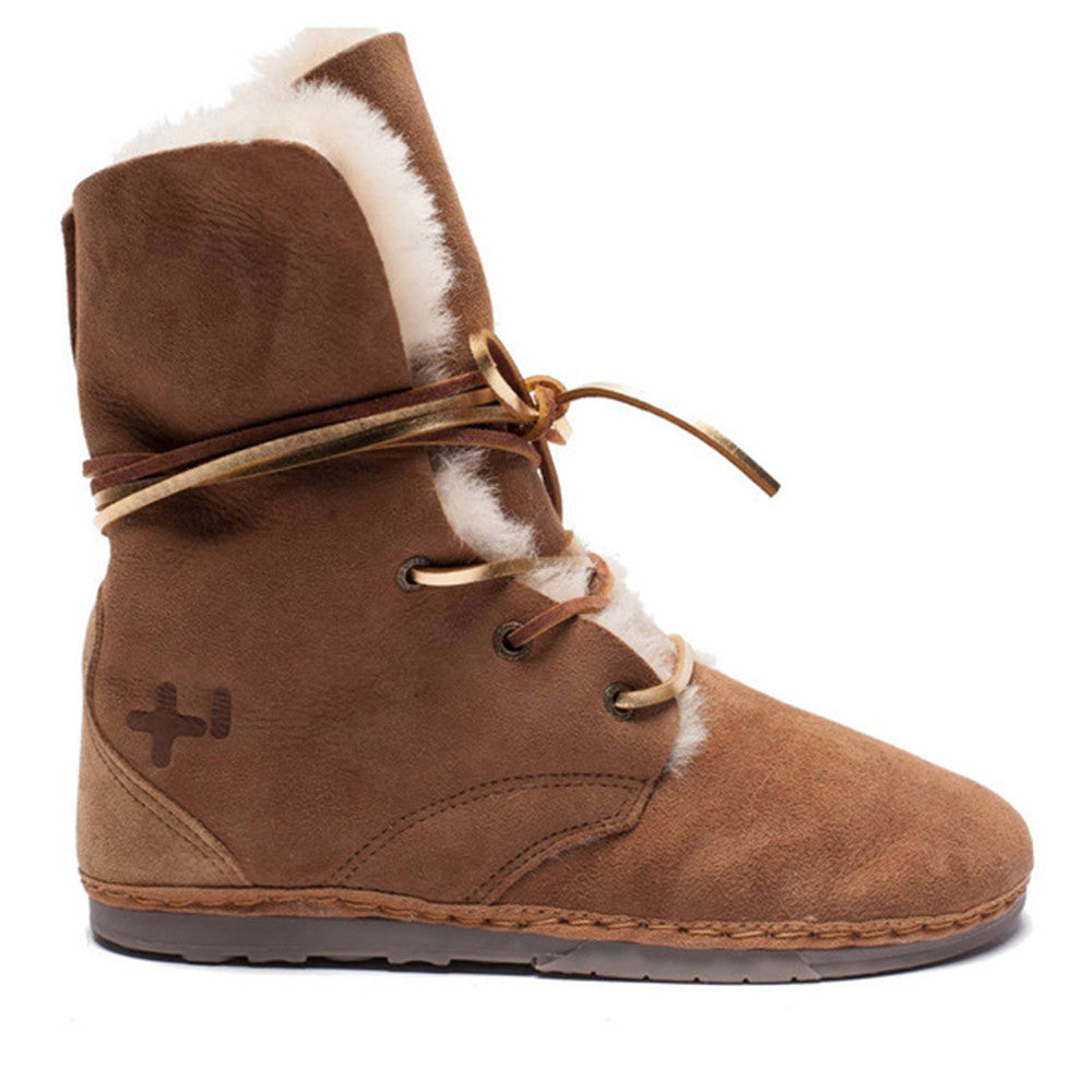 TROOP SHEARLING, Chestnut