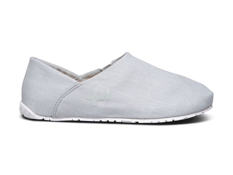 Espadrille lin, mineral gray