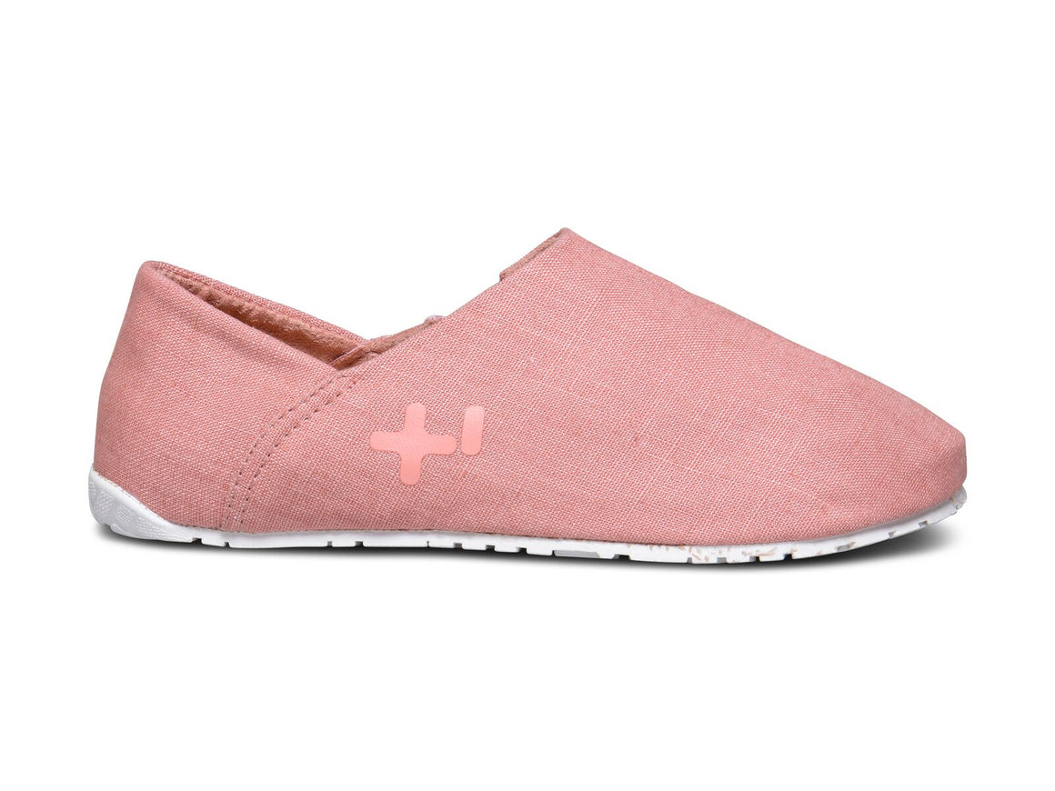 Espadrille lin, rose dawn