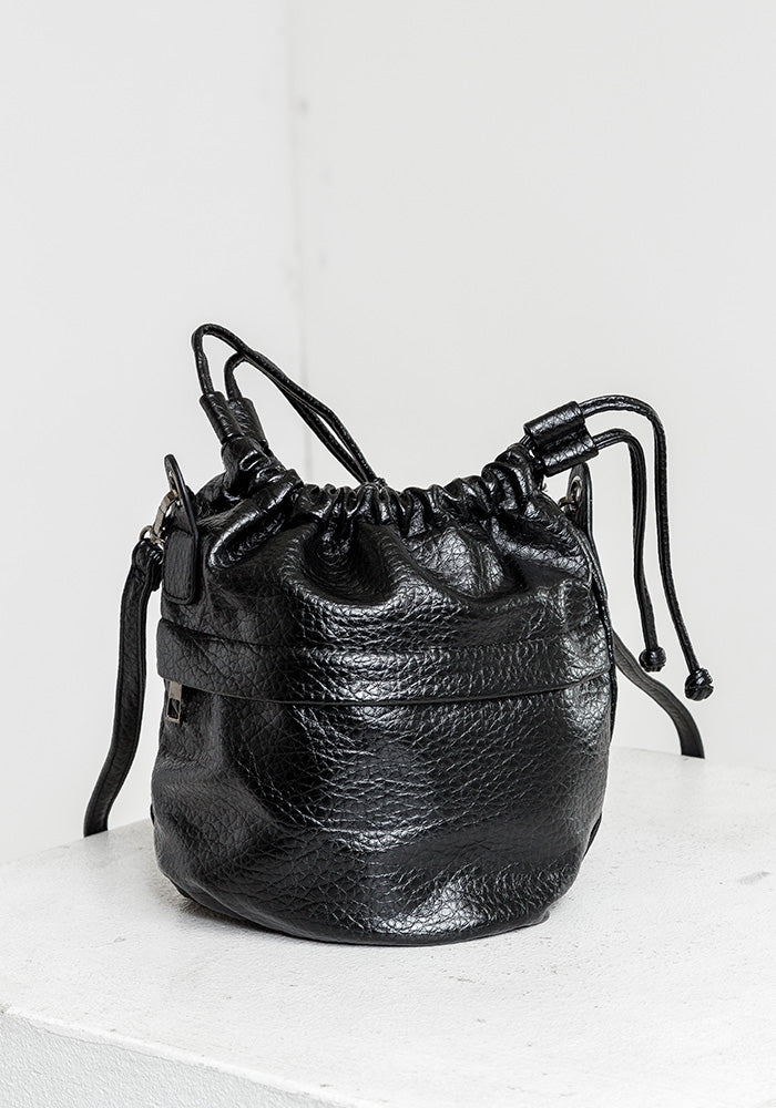 Leather sack bag