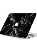 Marble Musta - JollyCase for Macbook Skin