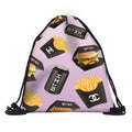 Fashion Food Drawstring Backpack