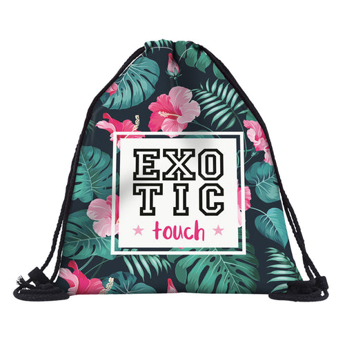 Exotic Drawstring Backpack