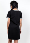Bulls t-shirt dress in black