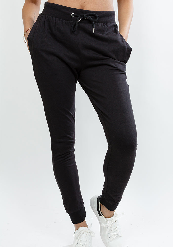 Lucky sweatpants in black