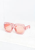 Glam babe sunglasses in rosa