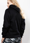 Series classic fit hoodie in black