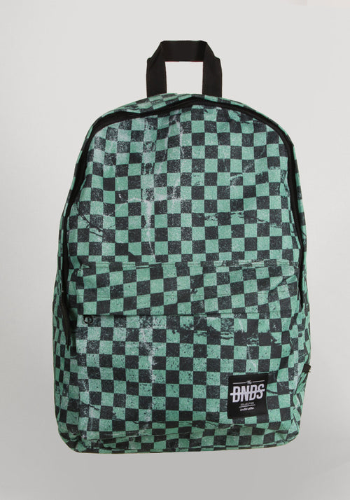Checkered blue BNDS Backpack