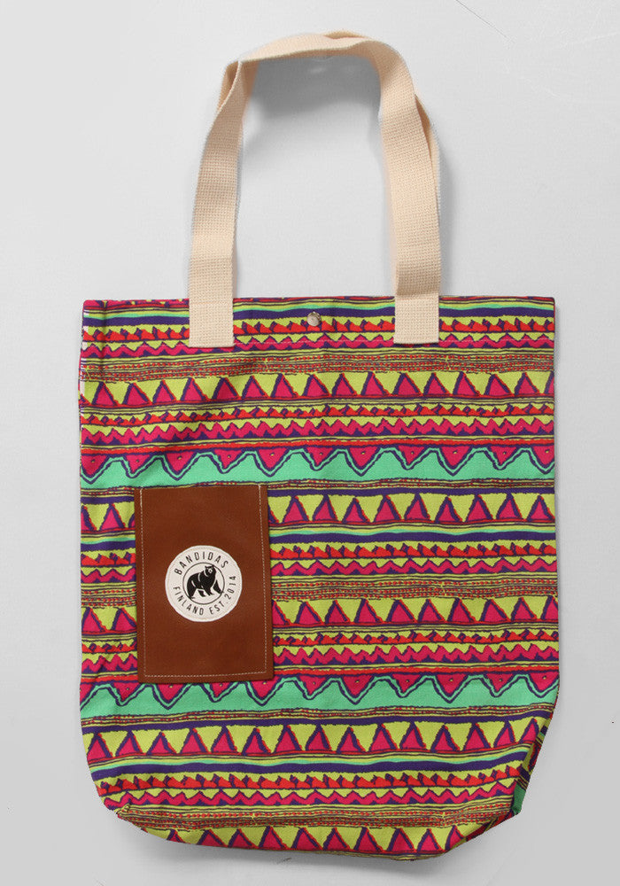 Bandidas Colorful Aztec Tote Bag