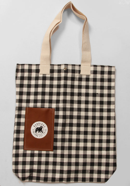 Bandidas Gingham Tote Bag