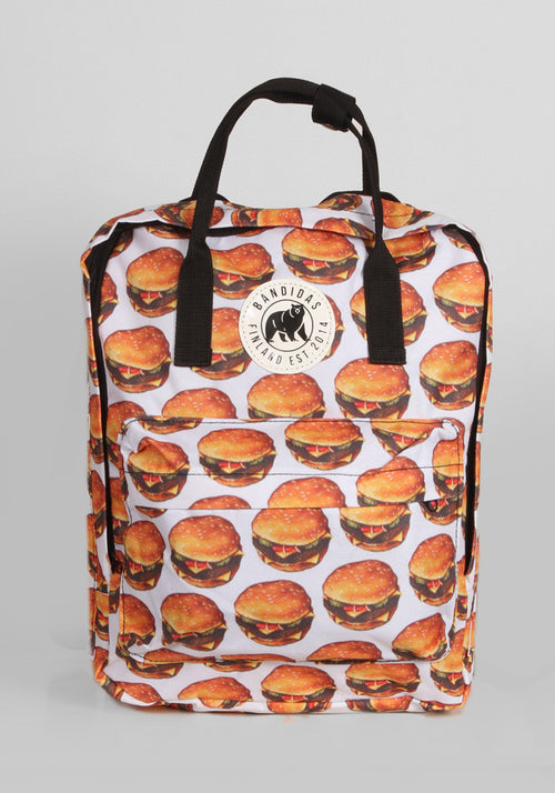 Little Sister Backpack in Hamburger