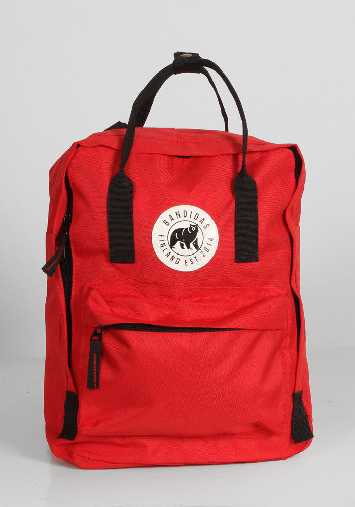 Little Sister Backpack in Red