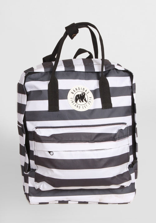 Little Sister Backpack in Stripes