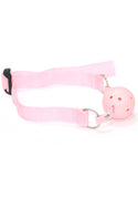 Bad Girl Ball Gag in Pink