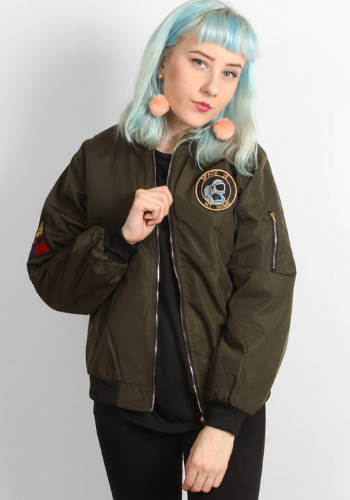 Space bomber jacket in Multiple colours
