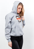 Flex classic fit hoodie in light grey