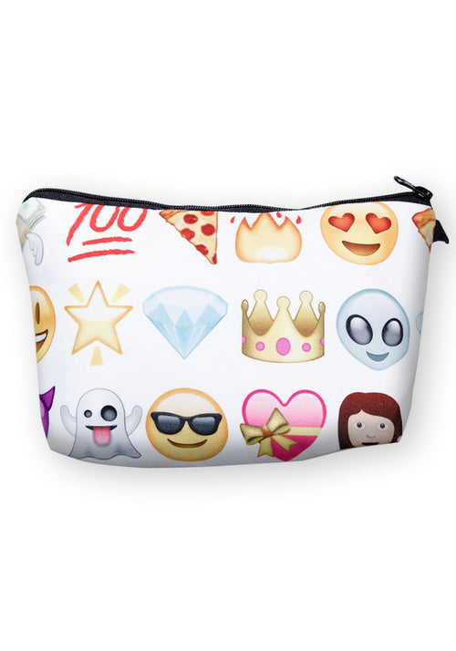 Emoji mix make-up bag