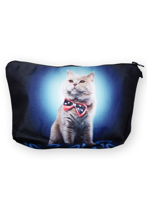 Kitty glow make-up bag