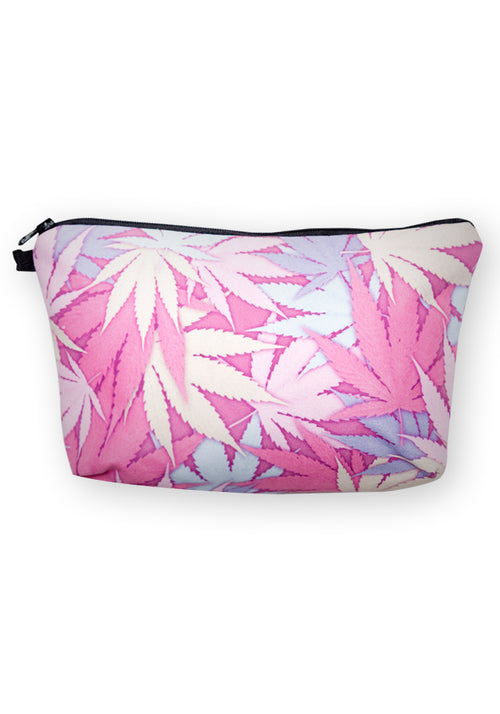 Leaf make-up bag