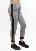 Sporty sweatpants in grey